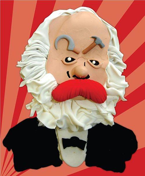 Karl Marx por Nobru (Folha de SP)