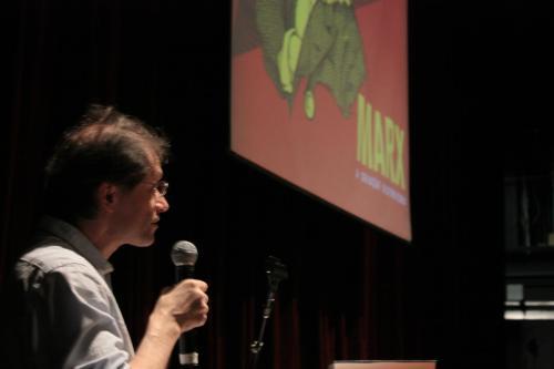 """Michael Heinrich apresenta a conferência """"Os manuscritos de Karl Marx e Friedrich Engels"""", no IV Seminário Margem Esquerda: Marx e O capital"""
