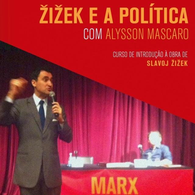 "Alysson Mascaro durante a aula ""Žižek e a política"""